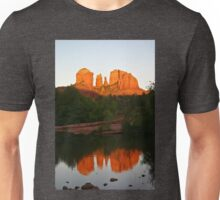 Cathedral Rock Reflection Unisex T-Shirt