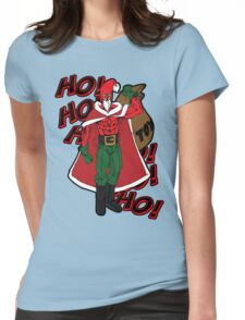 Super Santa Womens Fitted T-Shirt