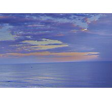 How Tranquil, The Sea Photographic Print