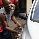 Malawi: car wash by Anita Deppe