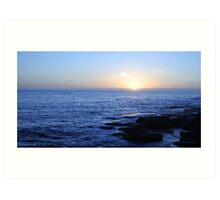 blue over bondi Art Print