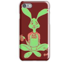 Axe- Girl Bunny iPhone Case/Skin