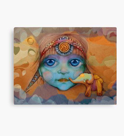 The Golden Elephant Canvas Print