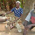 Malawi: brewing beer by Anita Deppe