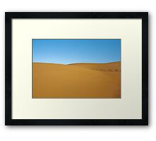 Smooth Path Framed Print