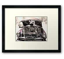 Plymouth Classic Framed Print