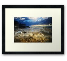 The Third Day  (Genesis 1, 9-13) Framed Print