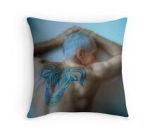 Luminous Taurus Throw Pillow