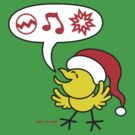 Christmas Chicken making a Wish! by Zoo-co