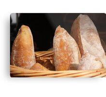 Bread, Lyttelton Farmers Market Metal Print