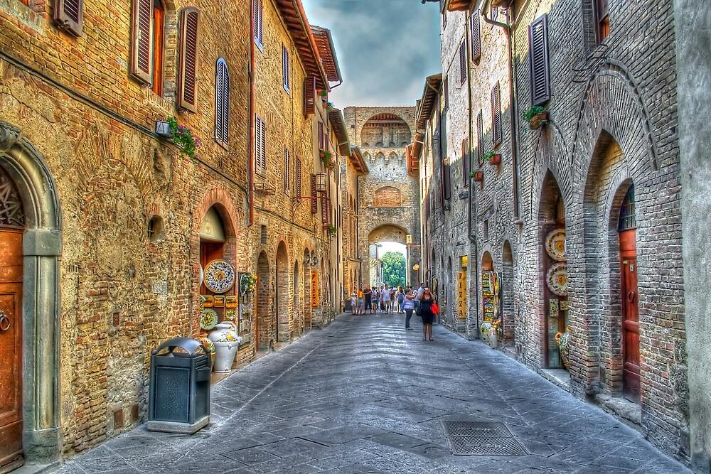 San Gimignano by oreundici