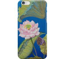 Right part of the triptych Ripple effect iPhone Case/Skin