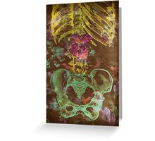 Pelvis Greeting Card