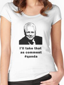 I'll take that as comment #qanda Women's Fitted Scoop T-Shirt