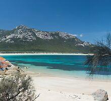 Trousers Point Flinders Island Tasmania by Mark  Brady