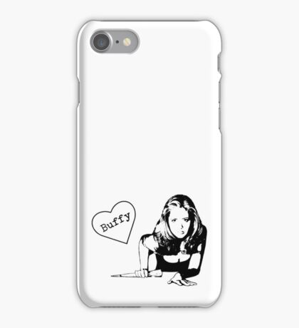 With Love, Buffy iPhone Case/Skin