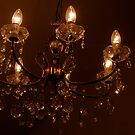 chandelier by night by Susan Rees-Osborne