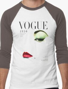 (vogue) Men's Baseball ¾ T-Shirt