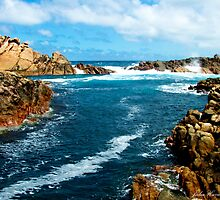 Canal Rocks by Julia Harwood