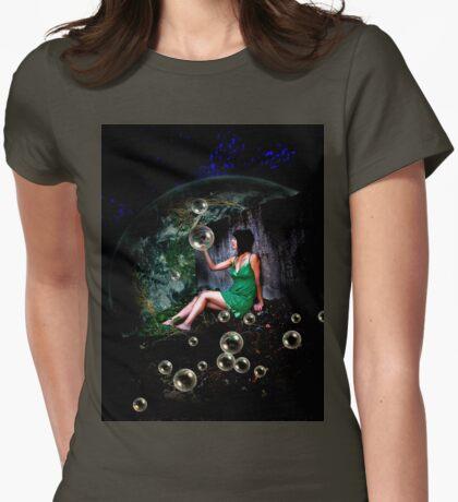 Allison in Wonderland Womens Fitted T-Shirt