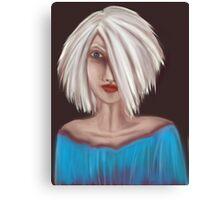 Portrait 01 Canvas Print