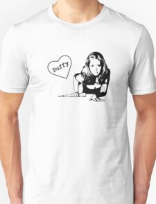 With Love, Buffy T-Shirt