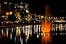 Nighttime on the Torrens by Wendi Donaldson Laird