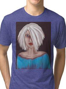Portrait 01 Tri-blend T-Shirt