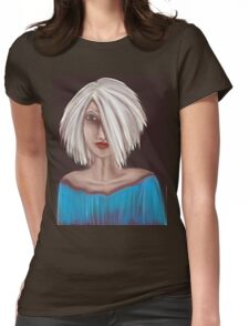 Portrait 01 Womens Fitted T-Shirt