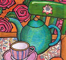 A teapot for Alice by genevievem