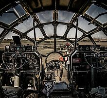 "B-29 Superfortress ""Fifi"" Cockpit View by Chris Lord"
