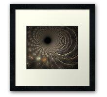 Objective Dimension Framed Print
