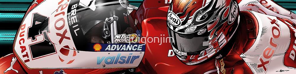 Noriyuki Haga - Xerox Ducati 1198 by quigonjim