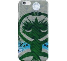 Haunted Solstice Moon Winged Thing iPhone Case/Skin