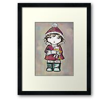 pixie and her friends 2 Framed Print