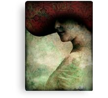 Triumph of beauty Canvas Print