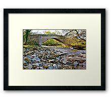 Packhorse Bridge - Coverdale Framed Print