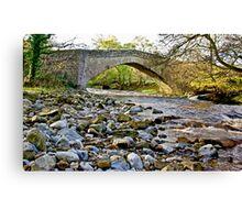 Packhorse Bridge - Coverdale Canvas Print