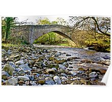 Packhorse Bridge - Coverdale Poster