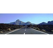 Road to Teide Photographic Print