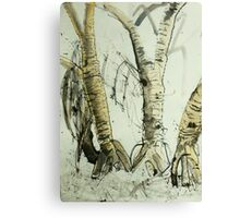 Pandanus Portraits Canvas Print