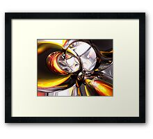 Reckless Defiance Abstract Framed Print