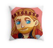 Avengers Flower Crown - Thor Throw Pillow