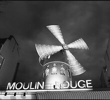 Moulin Rouge, Paris by aldogallery