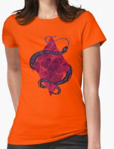 Mystic Crystal Womens Fitted T-Shirt