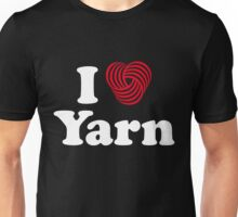 I Heart Yarn Unisex T-Shirt