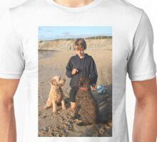 39. Remy & Maya & Pedro his Labradoodles Unisex T-Shirt