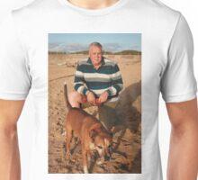 40. Lloyd with Jessie the Staffy X Unisex T-Shirt