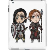 Xander and Evie iPad Case/Skin