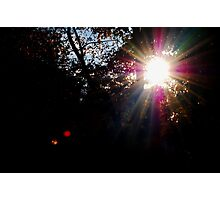 I See The Light Photographic Print